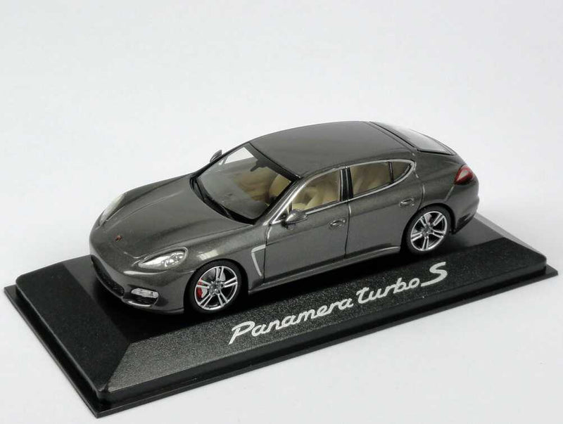 Porsche Panamera Turbo S 1:43 Model Car - Agate Grey