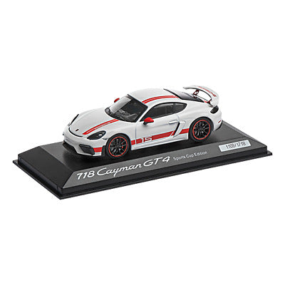 Porsche Driver's Selection 718 Cayman GT4 Sports Cup Model Car- 1:43 Scale