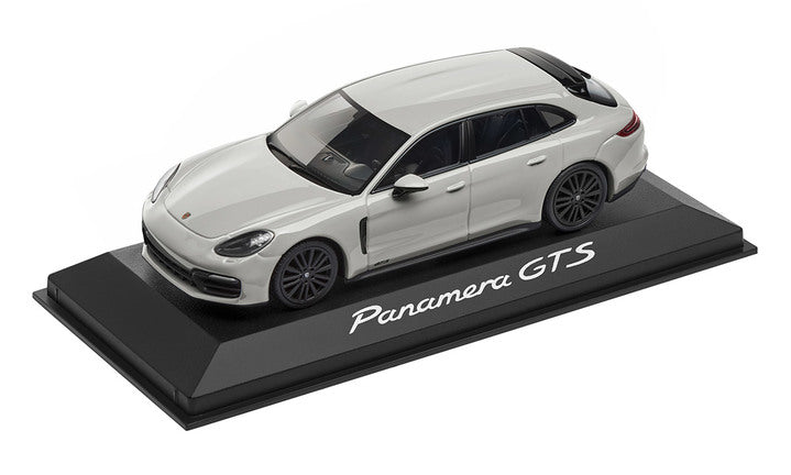 Porsche Driver's Selection Panamera Sport Turismo GTS Model Car- Chalk