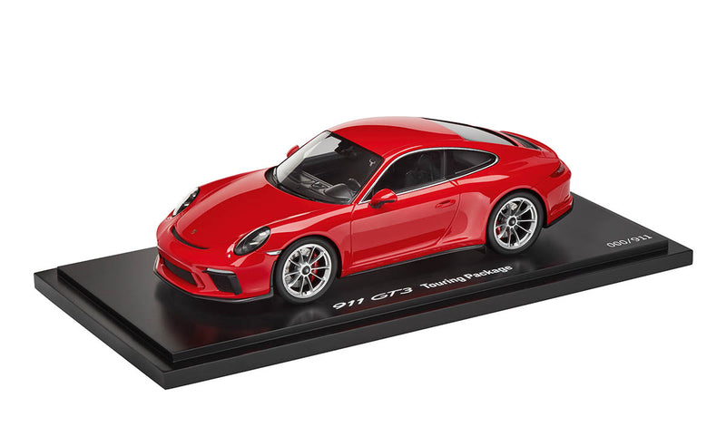 Porsche 911 (991.2) GT3 Touring Package 1:18 Model Car - Guards Red