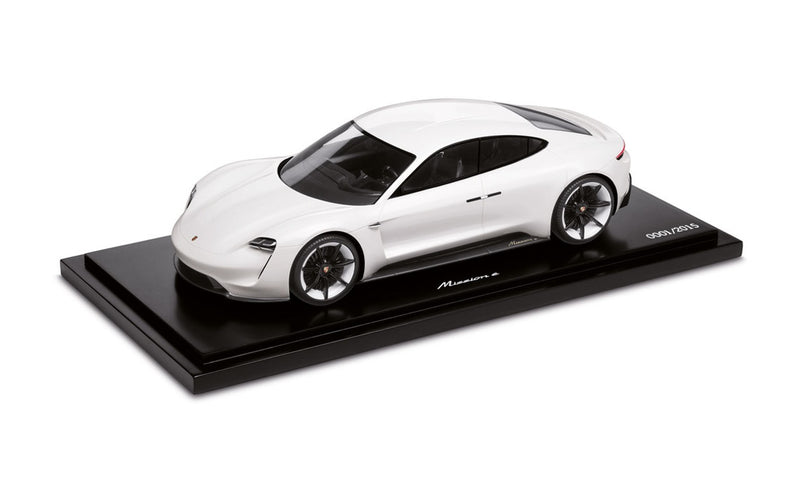 Porsche Mission E (Taycan) Concept 1:18 Model Car - White