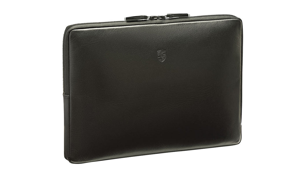 "Porsche Driver's Selection Leather Laptop Case / Sleeve - for 13"" laptop"