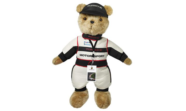 Porsche Driver's Selection Motorsport Toy Bear