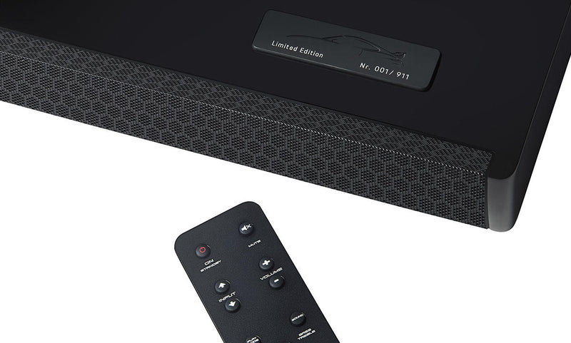 PORSCHE DESIGN 911 GT3 Twin Exhaust Soundbar - Special Black Edition (Limited)