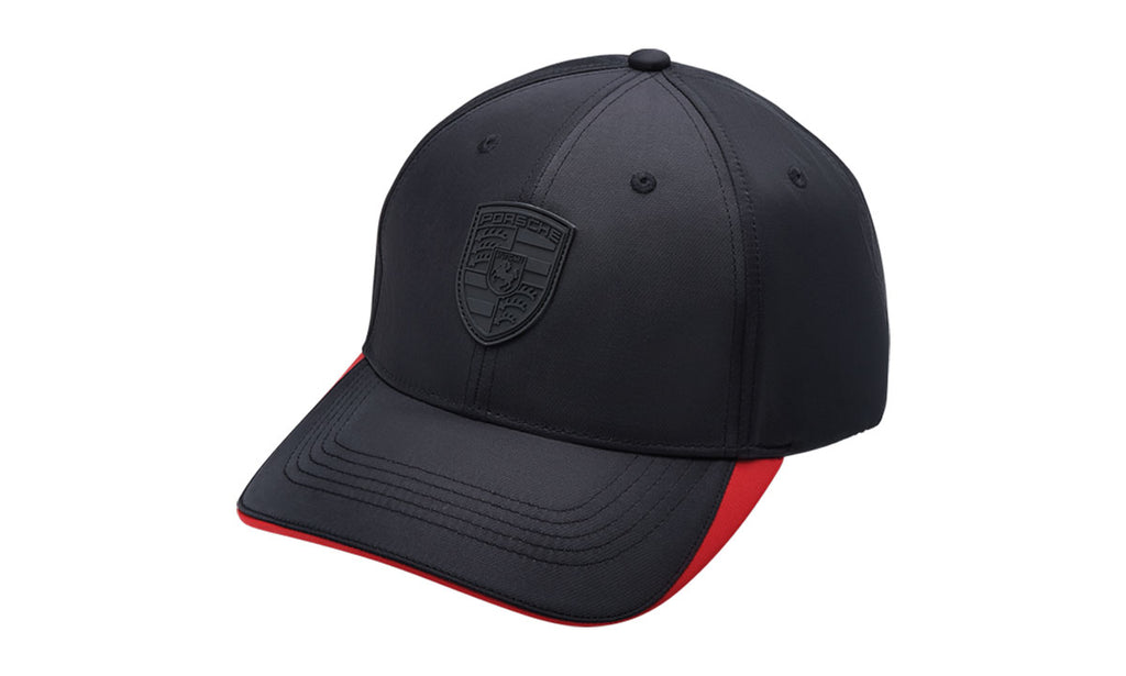 Porsche Driver's Selection Baseball Cap - Black Crest