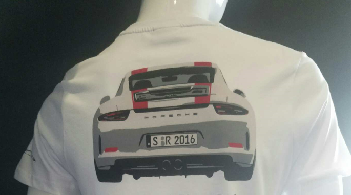 "Porsche Driver's Selection 911R ""Porsche Exchange"" T-shirt"