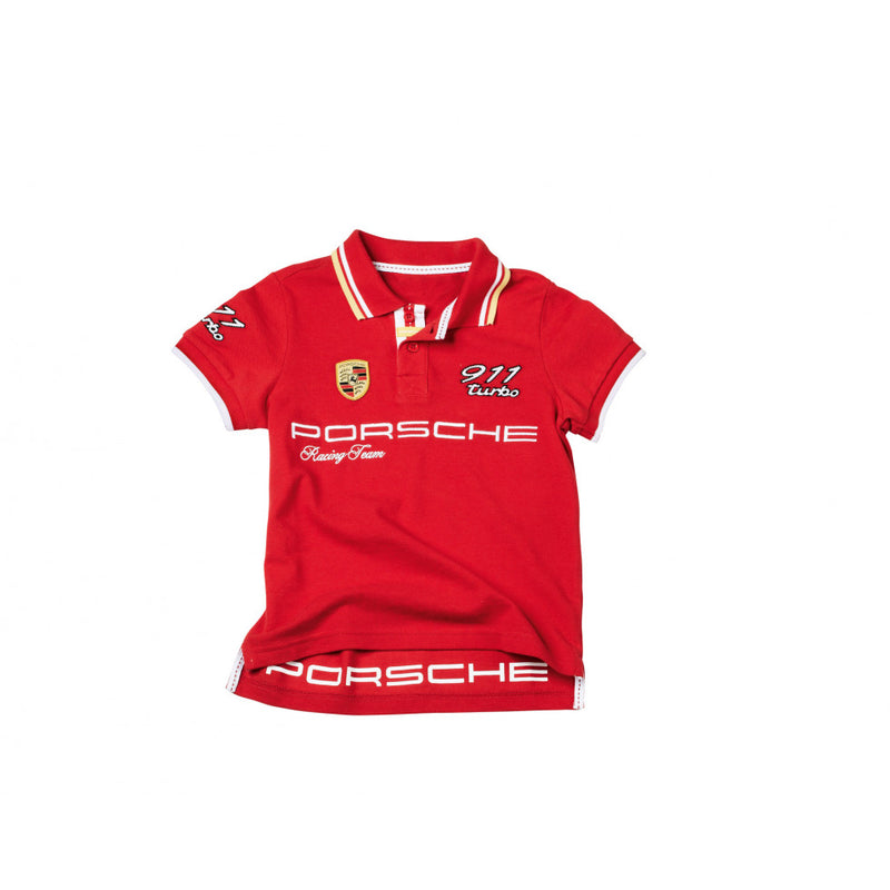 Porsche Driver's Selection Kids Polo, Red - Essential Collection