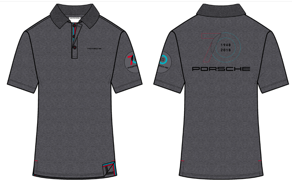 70 Year Anniversary of Porsche Polo Shirt - Porsche North America release