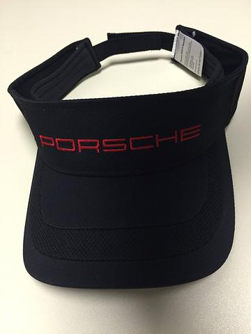 Porsche Driver's Selection Sports Visor - Black