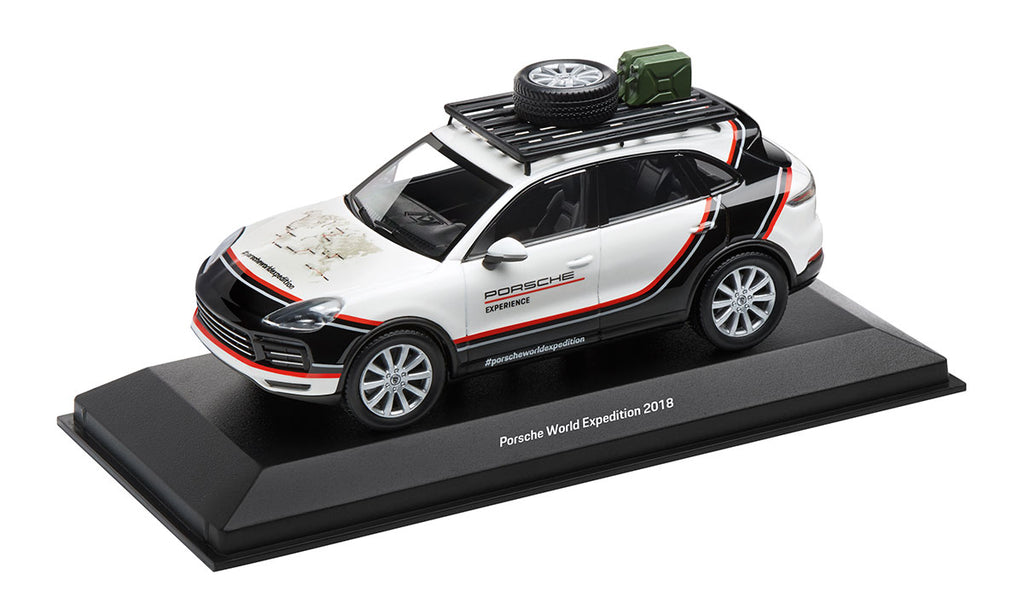 Porsche Driver's Selection Cayenne World Expedition Model Car- 1:43 Scale