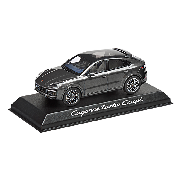Porsche Driver's Selection Cayenne Turbo Coupe 1:43 - Quarts Grey