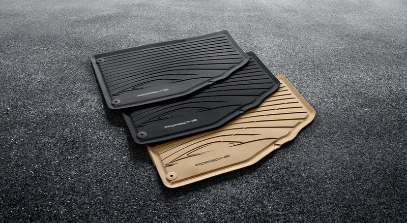 Porsche Tequipment All Weather Floor Mats For (991) 911 and (981/982) Boxster / Cayman