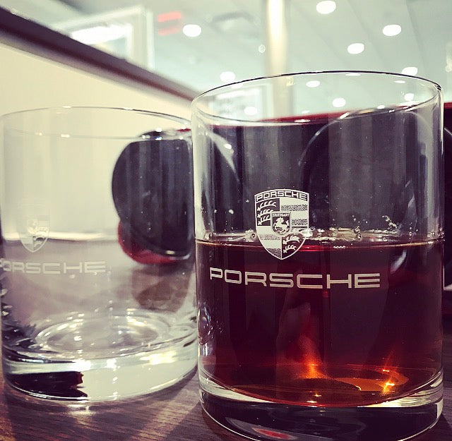 Porsche Driver's Selection Drinking Glass Set (2 pc)