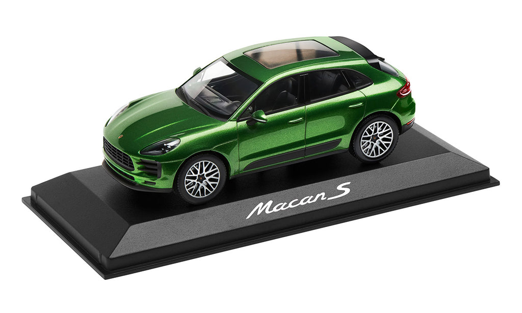 Porsche Driver's Selection Macan S Model Car- Mamba Green Metallic