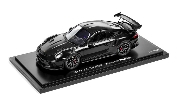 Porsche Driver's Selection GT3 RS Weissach Pack Black 1:18