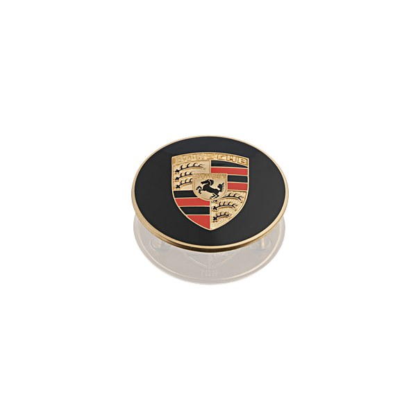 Porsche Classic Hub Cap W/ Embossed Colored Escutcgeon- 356, 911, and 914