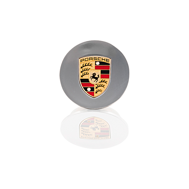 Porsche Classic Hub Cap W/ Colored Coat of arms- 996