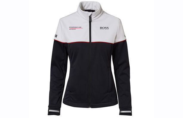 Porsche Driver's Selection Women's Softshell Jacket Hugo Boss- Motorsport