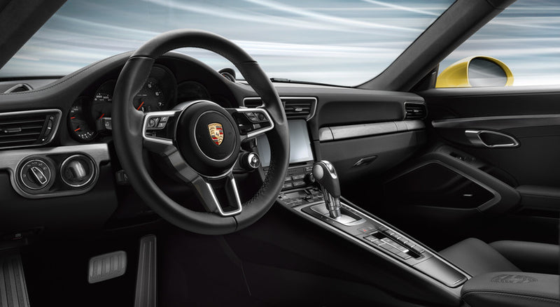 Porsche Tequipment Brushed Aluminum Interior Package