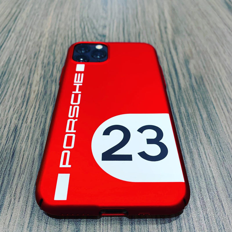 Porsche Driver's Selection iPhone Snap On Case - Red #23