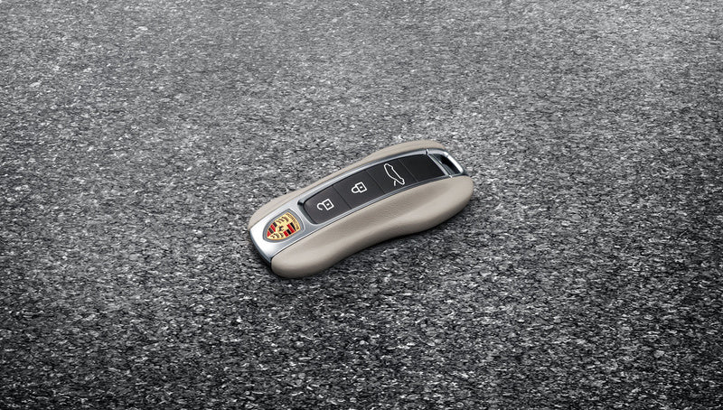 Porsche Tequipment Leather Vehicle Key Taycan