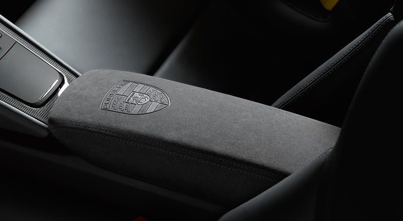 Porsche Tequipment Lid Of Storage Compartment- Alcantara
