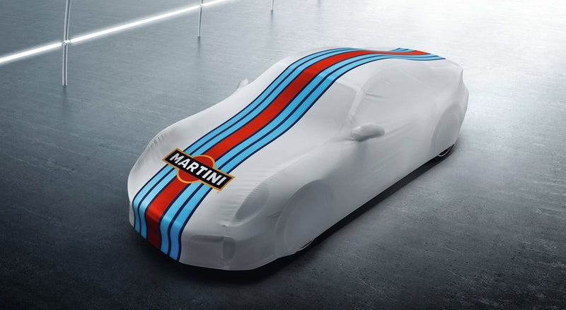 Porsche Tequipment 911 (991) Indoor Car Cover- Martini Racing