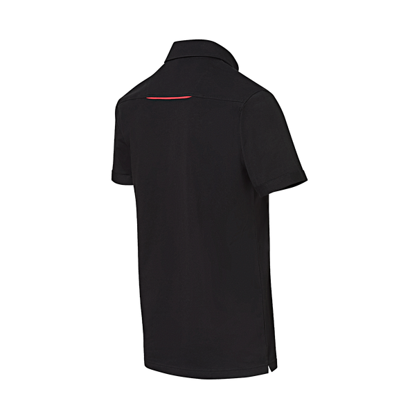 Porsche Driver's Selection Men's Polo Shirt (Black)- Motorsport Collection
