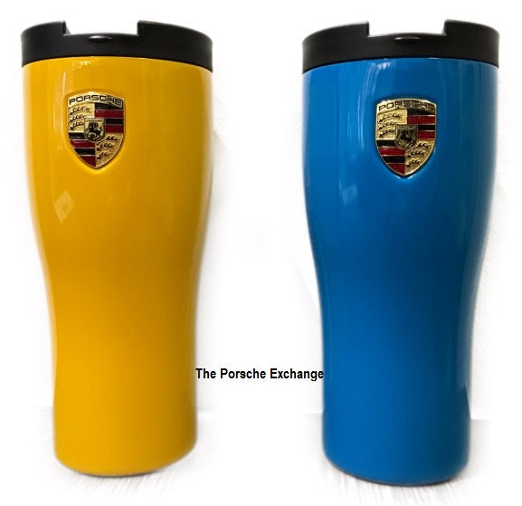 Porsche Driver's Selection New Travel Mug- Stainless Steel
