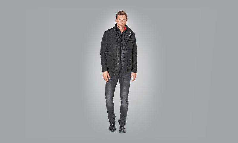 Porsche Driver's Selection 2 in 1 Men's Jacket with Vest - 911 Collection