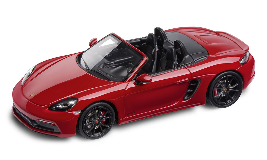 Porsche 718 Boxster GTS (982) 1:43 Model Car - Carmine Red (Limited)