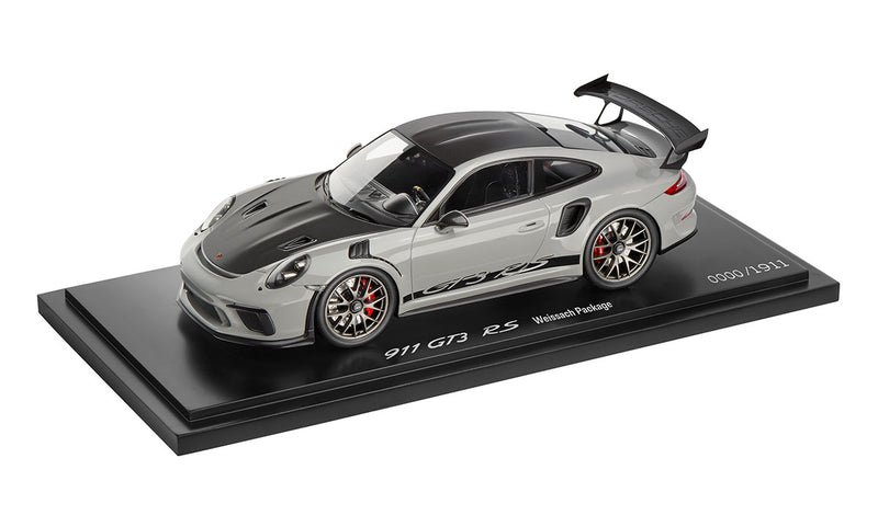 Porsche 911 (991.2) GT3 RS with Weissach Package 1:18 Model Car - Chalk (LIMITED)
