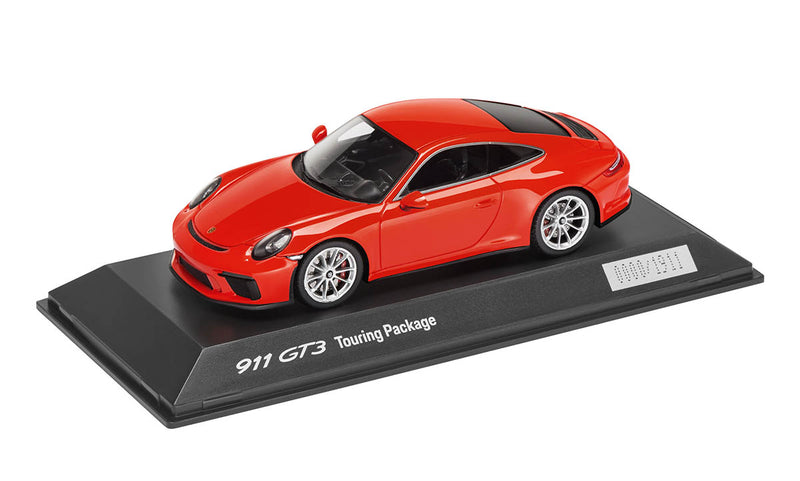 Porsche 911 (991.2) GT3 Touring Package 1:43 Model Car - Lava Orange (LIMITED)