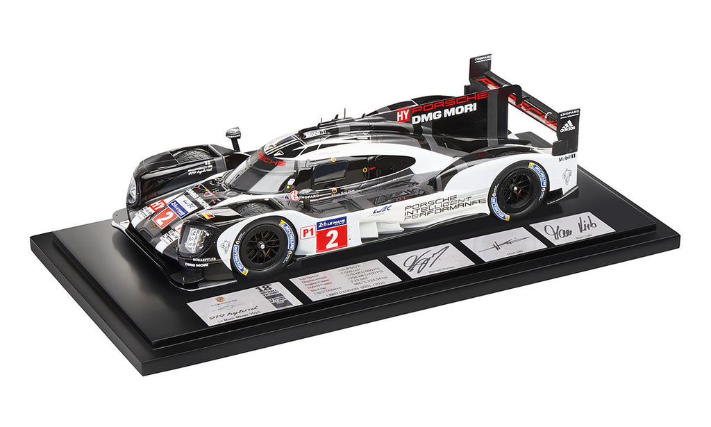 Porsche 919 Hybrid 1:18 Resin Model Car - 2017 Le Mans Winner