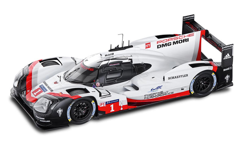 Porsche 919 Hybrid (2017) LMP1 1:43 Model Car - LeMans, No. 1