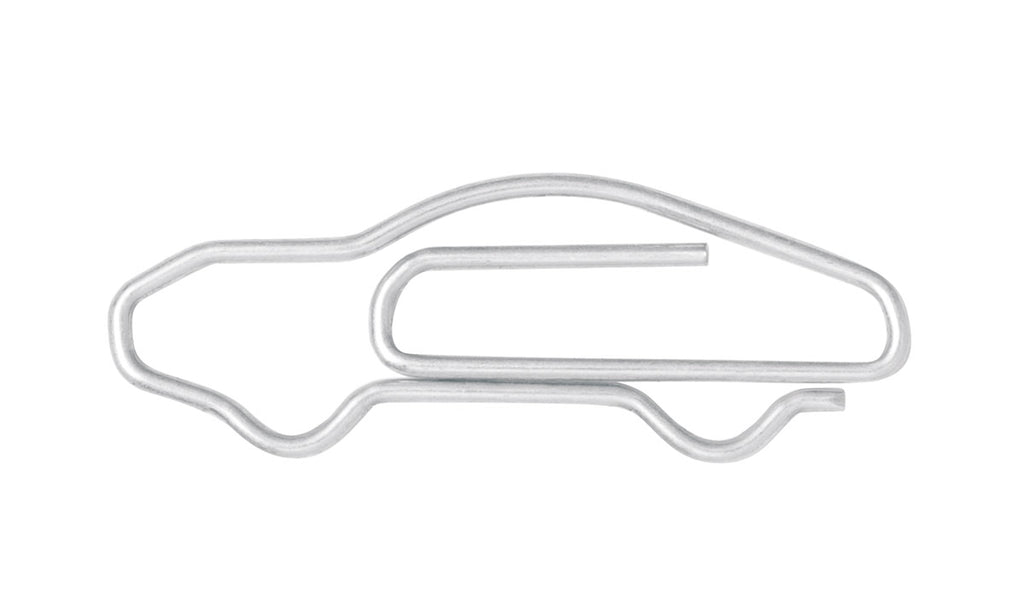 Porsche Driver's Selection 911 Silhouette Paper Clips (Set of 100)