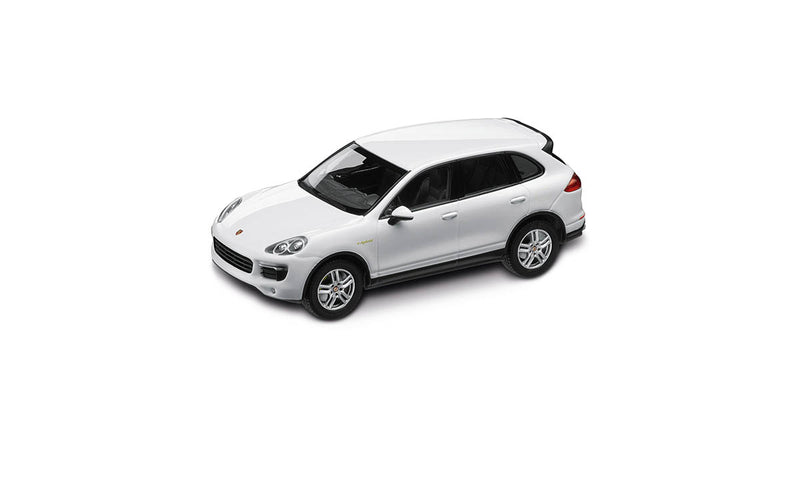 Porsche Cayenne Turbo 1:43 Model Car - White