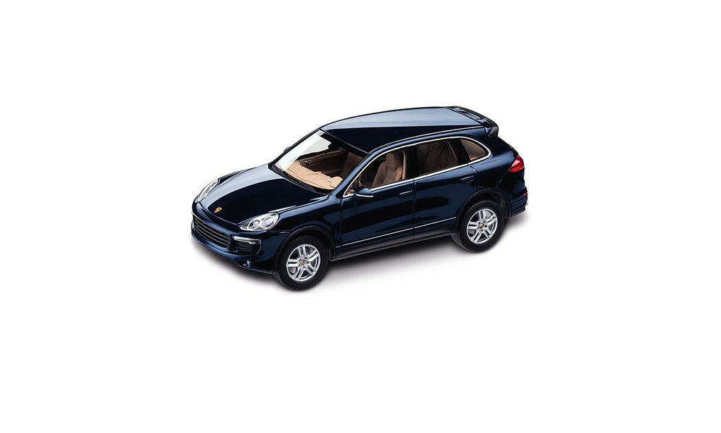Porsche Cayenne S 1:43 Model Car - Midnight Blue