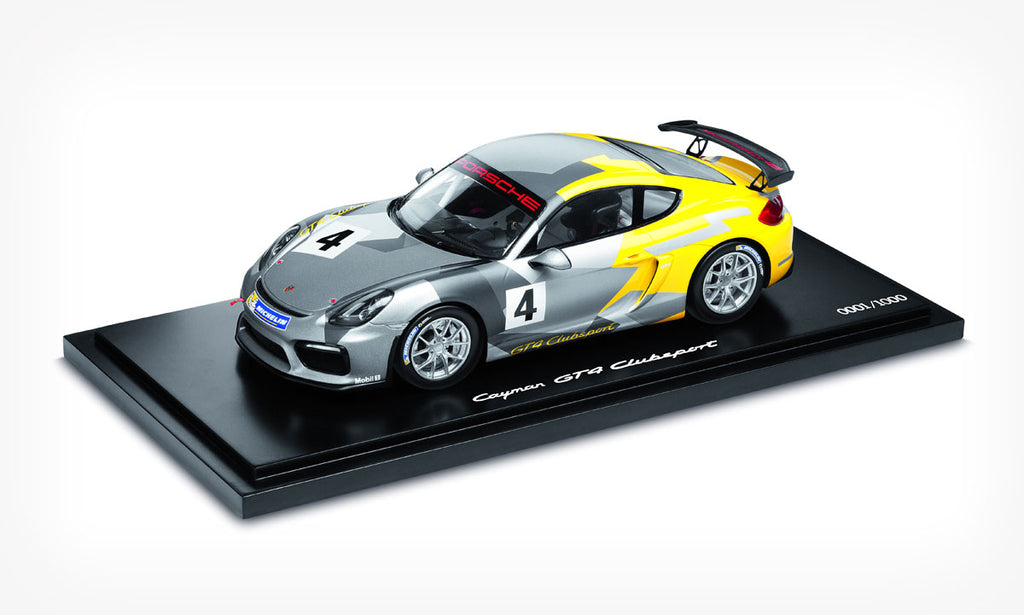 Porsche 981 Cayman GT4 Clubsport Club 1:18 Model Car (Limited Edition)