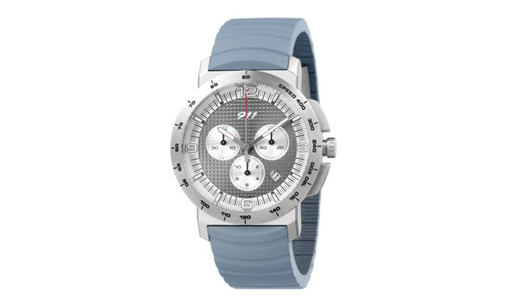 Porsche Driver's Selection 911 Chronograph Watch - Silver