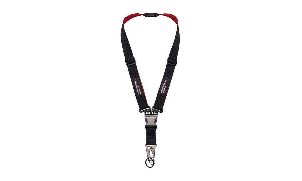 Porsche Driver's Selection Belt Harness Lanyard - Motorsport