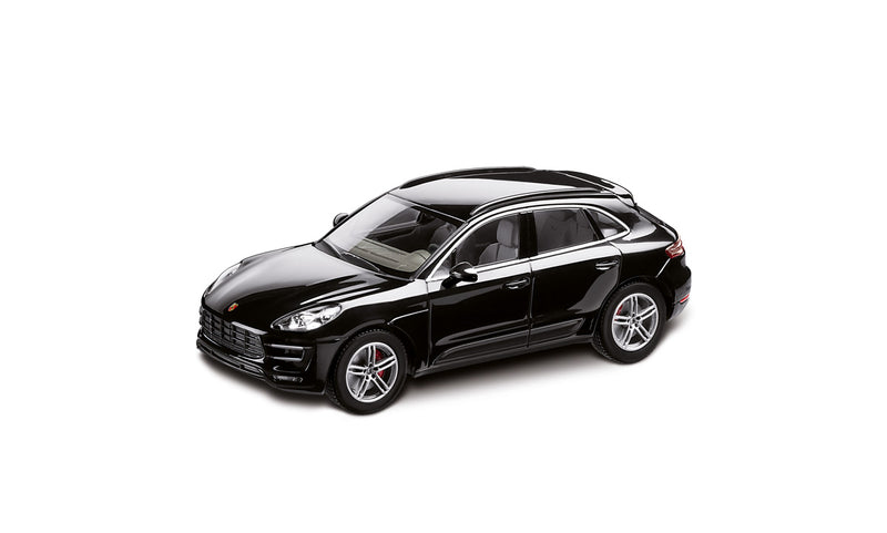 Porsche Macan Turbo 1:43 Model Car - Black