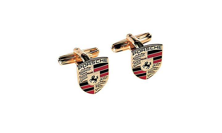 Porsche Driver's Selection Crest Cufflinks