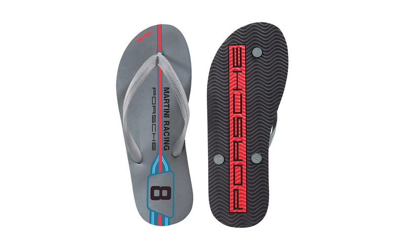 Porsche Driver's Selection Flip Flops/Sandals - Martini Racing Collection