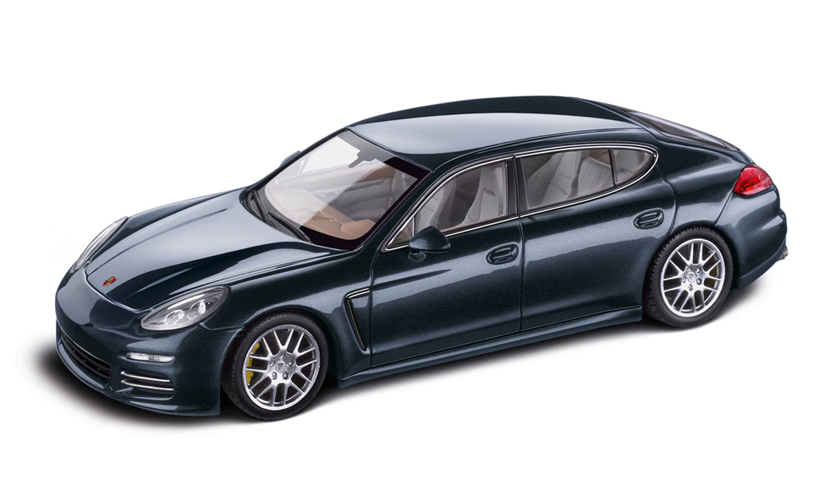 Porsche Panamera 4s Executive 1 43 Model Car Dark Blue Metallic Porsche Exchange