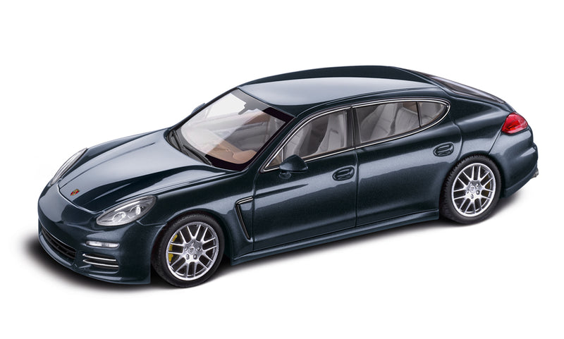 Porsche Panamera 4S Executive 1:43 Model Car - Dark Blue Metallic