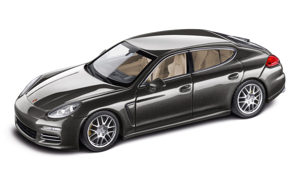 Porsche Panamera 4S 1:43 Model Car - Agate Grey Metallic