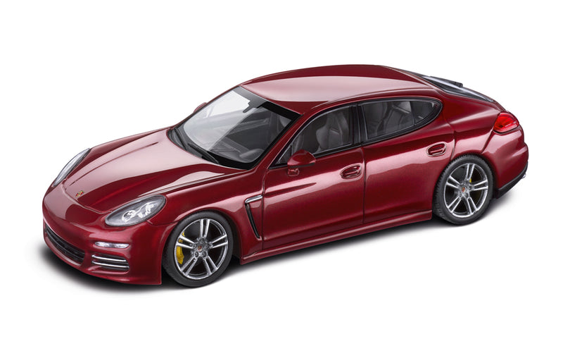 Porsche Panamera 4 (G1.2) 1:43 Model Car - Ruby Red