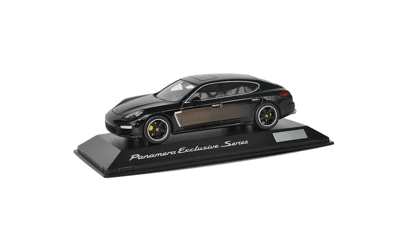 Porsche Panamera Exclusive Series 1:43 Model Car - Chestnut Brown Metallic