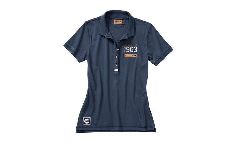 "Porsche Driver's Selection ""Legends of 1963"" Women's Polo Shirt - Classic Collection"
